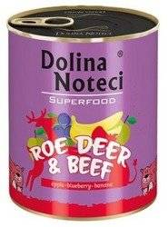 Dolina Noteci Superfood Roe Deer & Beef Sarna i wołowina