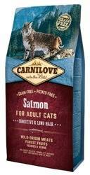 Carnilove Cat Salmon Sensitive & Long Hair - łosoś
