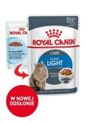 Saszetka Royal Canin Ultra Light w sosie 85g
