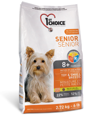 1St Choice Senior Dog Toy & Small Breeds