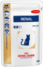 Royal Canin Veterinary Diet Cat Renal Tuńczyk saszetka 85g