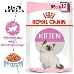 Saszetka Royal Canin Kitten Instinctive w galaretce 85g