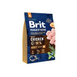 Brit Premium By Nature Adult Medium M 3kg