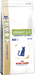 Royal Canin Veterinary Diet Cat Urinary S/O Moderate Calorie UMC 34 9kg