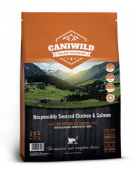 Caniwild Kitten Free run Chicken & Gentle Salmon