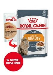 Saszetka Royal Canin Intense Beauty w sosie 85g